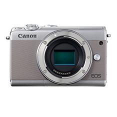 CAMARA DIGITAL REFLEX CANON EOS M100 BODY (SOLO CUERPO) CMOS/ 24.2MP/ DIGIC 7/ FULL HD/ WIFI/ BLUETOOTH/ NFC/ GRIS