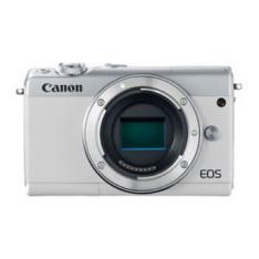 CAMARA DIGITAL REFLEX CANON EOS M100 BODY (SOLO CUERPO) CMOS/ 24.2MP/ DIGIC 7/ FULL HD/ WIFI/ BLUETOOTH/ NFC/ BLANCO