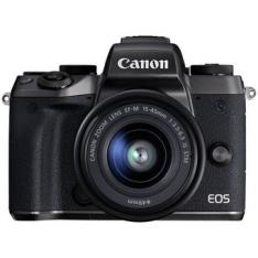 CAMARA DIGITAL REFLEX CANON EOS M5 + EF-M 15-45MM IS STM/ CMOS/ 24.2MP/ DIGIC 7/ FULL HD/ WIFI/ NFC/ BLUETOOTH