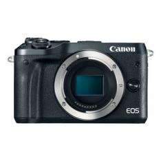 CAMARA DIGITAL REFLEX CANON EOS M6 BODY (SOLO CUERPO) CMOS/ 24.2MP/ DIGIC 7/ FULL HD/ WIFI/ NFC/ BLUETOOTH/ NEGRO
