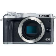 CAMARA DIGITAL REFLEX CANON EOS M6 BODY (SOLO CUERPO) CMOS/ 24.2MP/ DIGIC 7/ FULL HD/ WIFI/ NFC/ BLUETOOTH/ PLATA