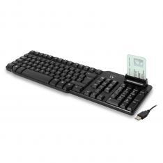 TECLADO USB EWENT EW3252 LECTOR DNI LAYOUT ESPAÑA
