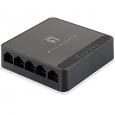 SWITCH SOBREMESA LEVEL ONE 5 PUERTOS FAST ETHERNET 10/100