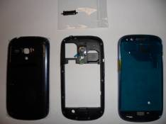 REPUESTO HOUSING COMPLETO PARA SMARTPHONE SAMSUNG GALAXY S3 MINI I8190 AZUL