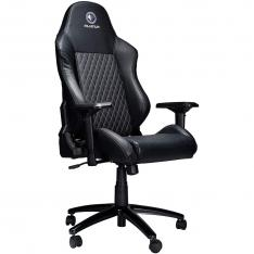 SILLA GAMING MILLENIUM MC1 APOYABRAZOS 4D / INCLINABLE HASTA 180º / NEGRA