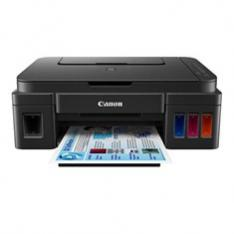 MULTIFUNCION  CANON G3501 INYECCION COLOR PIXMA A4/ NEGRA/ WIFI/ TINTA RECARGABLE/ EXCLUSIVA DYNOS