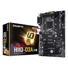 PLACA BASE GIGABYTE H110-D3A LGA 1151 DDR4X2 2400MHZ MAX 32GB VGA SERIE PARALELO ATX