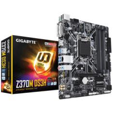 PLACA BASE GIGABYTE INTEL Z370M DS3H LGA 1151 DDR4X4 64GB HDMI MICRO ATX