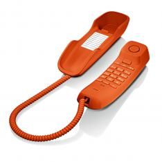 TELEFONO FIJO GIGASET DA210 NARANJA 3 TONOS