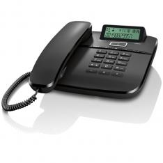 TELEFONO FIJO GIGASET DA610 NEGRO 50 NUMEROS AGENDA/ 10 TONOS
