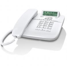TELEFONO FIJO GIGASET DA610 BLANCO 50 NUMEROS AGENDA/ 10 TOMOS