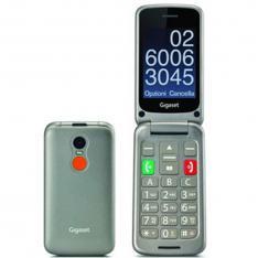 TELEFONO MOVIL GIGASET GL590 GRIS PARA MAYORES