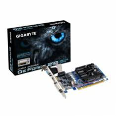 TARJETA GRAFICA GIGABYTE NVIDIA G-FORCE GT 210 LOW PROFILE 1GB GDDR3 PCIe HDMI DVI VGA