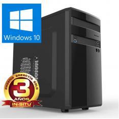 ORDENADOR PC PHOENIX HOME INTEL CELERON 4GB DDR4 1TB  RW WINDOWS 10 MICRO ATX  SOBREMESA