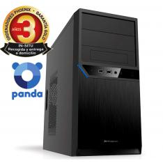 ORDENADOR PC PHOENIX HOME INTEL DUAL CORE 4GB DDR4 250 GB SSD RW MICRO ATX