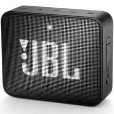 ALTAVOZ BLUETOOTH JBL GO 2 BLACK / 3W / ENTRADA 3.5MM / IPX7 / BATERIA RECARGABLE / MANOS LIBRES / NEGRO