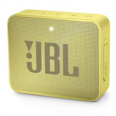 ALTAVOZ BLUETOOTH JBL GO 2 SUNNY YELLOW / 3W / ENTRADA 3.5MM / IPX7 / BATERIA RECARGABLE / MANOS LIBRES / NEGRO