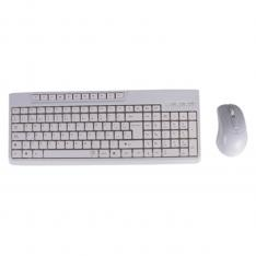 KIT TECLADO + RATON BLANCO BLACK LION OFFICE MULTIMEDIA BL-1901