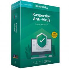 ANTIVIRUS KASPERSKY KAV 2020 3 LICENCIAS