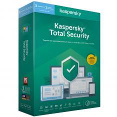 ANTIVIRUS KASPERSKY TOTAL SECURITY 2020 3 LICENCIAS
