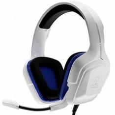 AURICULARES THE G-LAB KORP-COBALT-W MICROFONO JAKC 3.5MM GAMING BLANCO