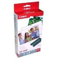 PAPEL FOTO CANON SELPHY KP-36IP 10X15 + TINTA 36 HOJAS SERIES CP