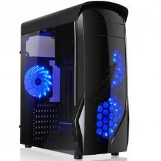 CAJA ORDENADOR GAMING L-LINK KRON ATX USB 3.0 SIN FUENTE