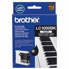 CARTUCHO TINTA BROTHER LC1000BK NEGRO 500 PAGINAS FAX1360  1560  MFC-3360C  MFC-5860CN  DCP-350C