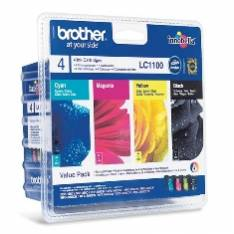 MULTIPACK BROTHER LC1100VALBP DCP385/ 585/ J615W/ J715W/ MFC490CW/ 790CW/ 795CW/ 990CW/ 5490CN/ 5890CN