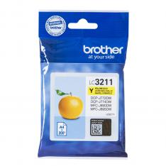 CARTUCHO TINTA BROTHER LC3211Y AMARILLO 200 PAGINAS