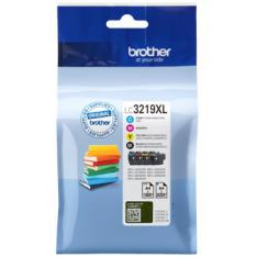 PACK CARTUCHOS TINTA BROTHER LC3219XLVAL NEGRO CIAN MAGENTA AMARILLO 3000 PAGINAS NEGRO/ 1.500 PAGINAS COLOR