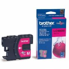 CARTUCHO TINTA BROTHER LC980M MAGENTA 400 PAGINAS DCP-195C  DCP-375CW  MFC-250C  MFC-255CW  MFC-290C