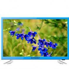 """TV SCHNEIDER 23.6"""" LED HD AZUL/ HDMI/ USB/ VGA/ MODO HOTEL"""