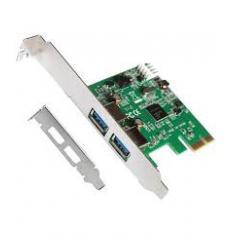 TARJETA L-LINK PCI EXPRESS 2 PUERTOS USB 3.0 CON ADAPTADOR PARA  PERFIL BAJO
