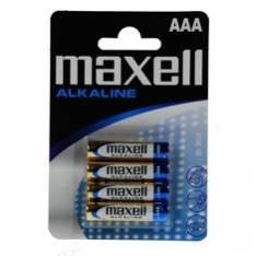 BLISTER MAXELL 4 PILAS ALCALINAS AAA LR-03