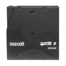 CINTA DE DATOS MAXELL LTO 100GB NORMALES 200 COMPRIMIDOS