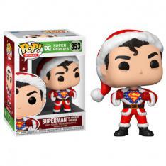FUNKO POP DC NAVIDAD SUPERMAN PAPA NOEL CON JERSEY 50651