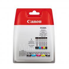 MULTIPACK CANON PGI-570 + CLI-571 PGBK/ BK/ C/ M/ Y