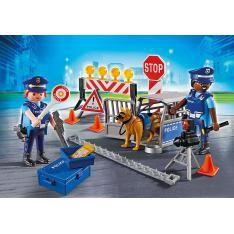 PLAYMOBIL POLICIA CONTROL DE POLICIA