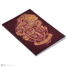 CUADERNO A5 HARRY POTTER GRYFFINDOR