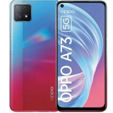 "TELEFONO MOVIL SMARTPHONE OPPO A73 5G NEON / 6.5""/ 128GB ROM/ 8GB RAM/ 16+8+2 Mpx/ 8 Mpx/ DUAL SIM/ HUELLA"
