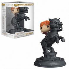 FUNKO POP HARRY POTTER RON MONTANDO PIEZA DE AJEDREZ 35518