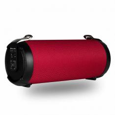 ALTAVOZ PORTATIL NGS ROLLERTEMPORED 20W  USB   MICRO SD   BLUETOOTH   ROJO