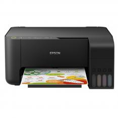 MULTIFUNCION EPSON INYECCION COLOR ECOTANK L3150 A4/ 33PPM/ USB/ WIFI/ WIFI DIRECT/ NEGRA