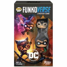 Juego de Mesa Funkoverse DC Edicion 101 Robin Catwoman