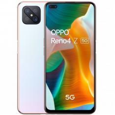 "TELEFONO MOVIL SMARTPHONE OPPO RENO 4Z 5G DEW WHITE 6.57"" / 128GB ROM/ 8GB RAM/ 48+8+2+2Mpx - 16+2Mpx/ HUELLA/ 120Hz/ DUAL SIM/"