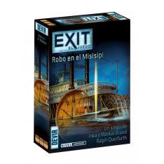 JUEGO DE MESA EXIT 14 ROBO EN EL MISSISSIPPI