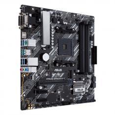 PLACA BASE ASUS AMD PRIME B450M-A II SOCKET AM4 DDR4 X4 MAX 128GB 2666MHZ D-SUN HDMI DVI-D mATX