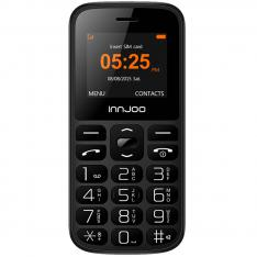 TELEFONO MOVIL INNJOO SENIOR PHONE/ BOTOS SOS/ LINTERNA/ RADIO FM/ BLUETOOTH/ BOTONES GRANDES