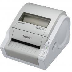 IMPRESORA DE ETIQUETAS Y TICKETS BROTHER TD4100N TERMICA DIRECTA/ 102MM/ 2MB FLASH RAM/ USB 2.0/ RED/ WIFI